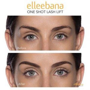 Elleebana eyelash lift